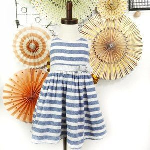 Tahari Sparkly Striped Party Dress Size 3T